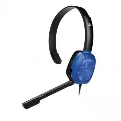 PDP Headset LvL.1 czarno-niebieskie (CAMO 051-031-EU-BCAM)