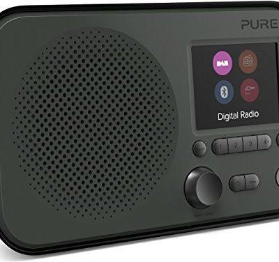 Pure Elan BT3Digital Radio szary (Graphite) Elan BT3