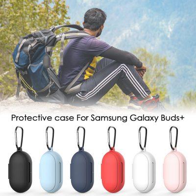 Samsung Silikonowe etui na słuchawki do Galaxy Buds/Buds + pyłoszczelna ochronna bezprzewodowa