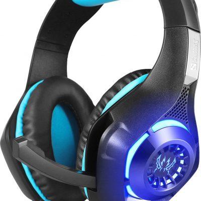 Sandberg Twister Headset czarno-niebieskie (125-79)