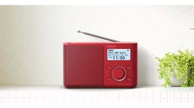SONY Sony XDR-S61DR red DAB+ (XDRS61DR.EU8)