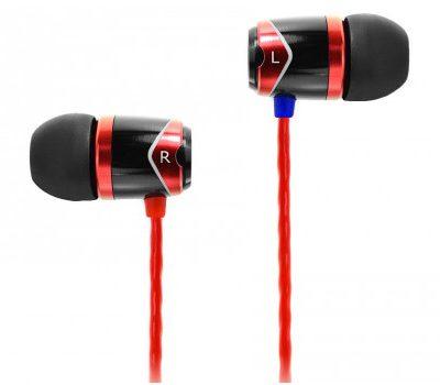 SoundMagic E10 Czarno-czerwone