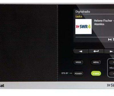 TechniSat DigitRadio 215 SWR4 Edition - DAB/DAB+/FM - Mono - Czarny (0000/4995)