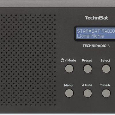 TechniSat Radio Techniradio 3 Czarny 0000/3925 0000/3925