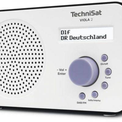 TechniSat TechniSat VIOLA 2 biało-czarny
