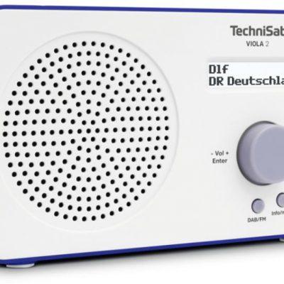 TechniSat TechniSat VIOLA 2 biało-niebieski (0001/3906)