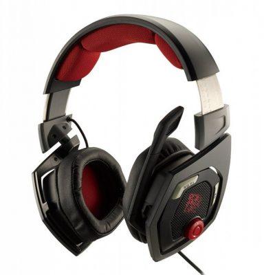 Thermaltake eSports Shock 3D 7.1 Czarno-czerwone (HT-RSO-DIECBK-13)