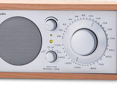 Tivoli Audio Model One Srebrno-Wiśniowy