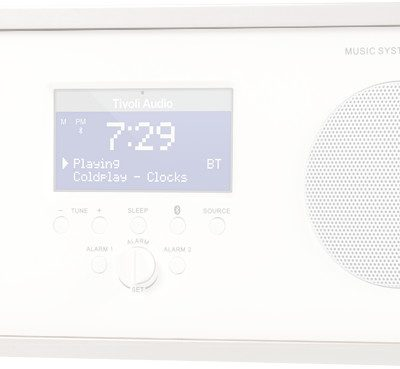Tivoli Audio Music System Three Biały
