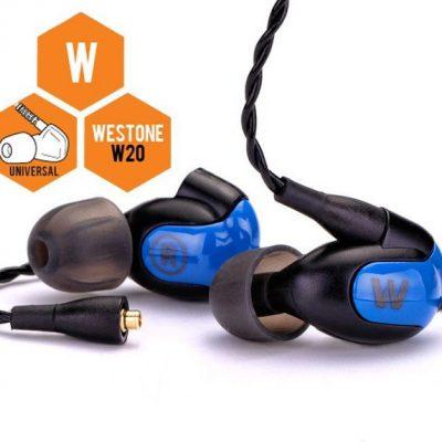 Westone W20 czarno-niebieskie