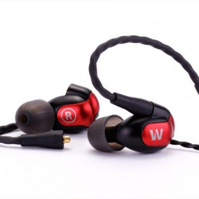 Westone W50 czarno-czerwone