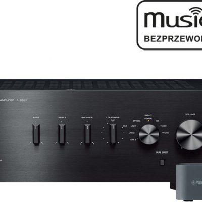 Yamaha A-S501 + MusicCast WXAD-10 Czarny