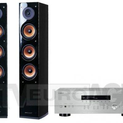 Yamaha MusicCast R-N303D srebrny Pure Acoustic NOVA 8 czarny 224,90 zł