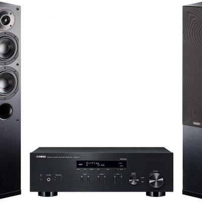 Yamaha R-N303D czarny) + NOTA 550 czarny)