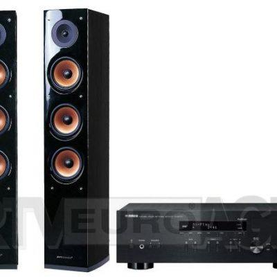 Yamaha R-N303D czarny Pure Acoustic NOVA 8 czarny 30 x 79,97 zł | (RN303B+ NOVA8 BLACK)