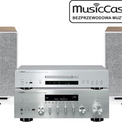 Yamaha R-N803D + CD-S700 + Debut Reference B6