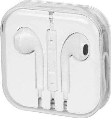 Zestaw Słuchawkowy Iphone Jack 3.5MM Z Mikrofonem Biały