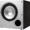 Polk Audio PSW 10E Czarno-Srebrny